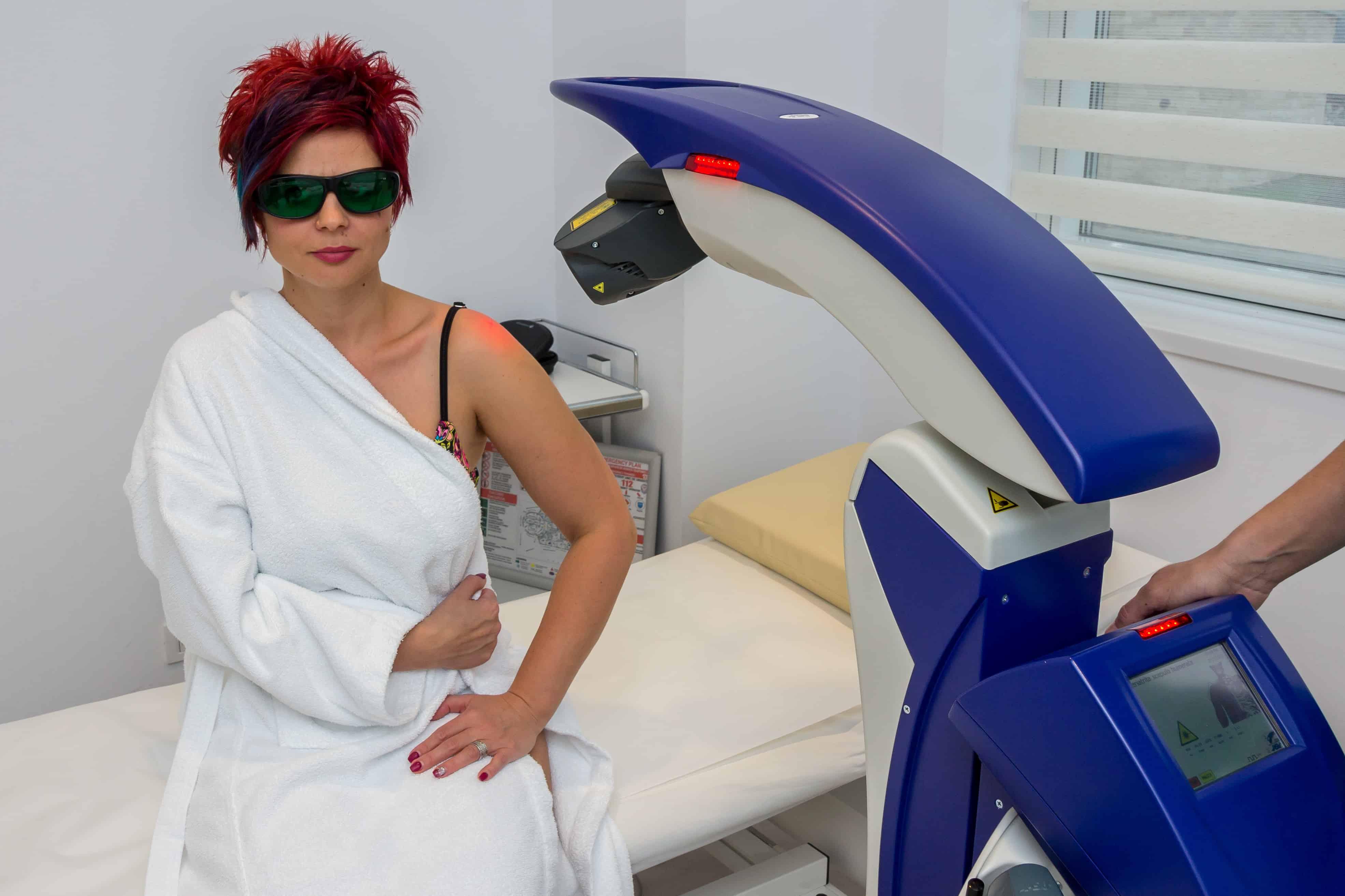 Laserterapie ultramodernă la Baza de Tratament şi Recuperare Medicală SanConfind